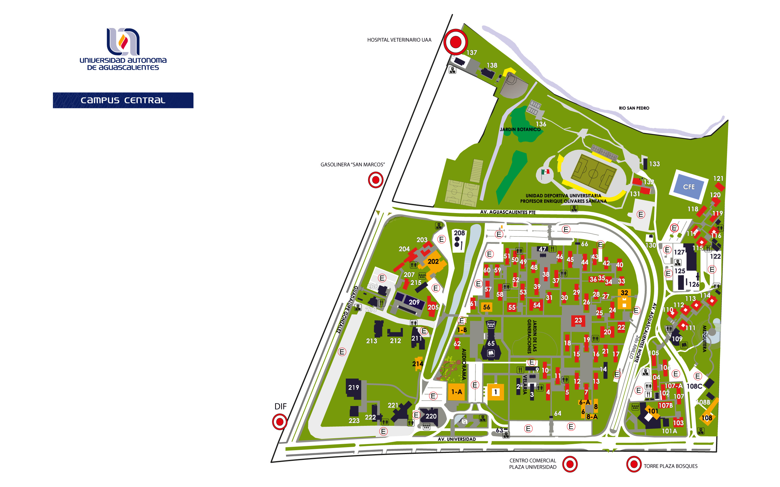 UAA Campus Map