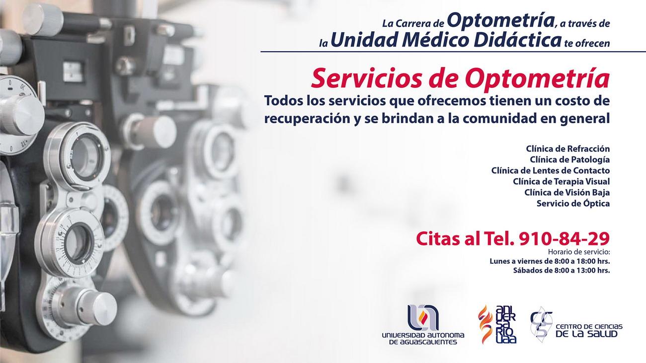 Servicio de Optometría