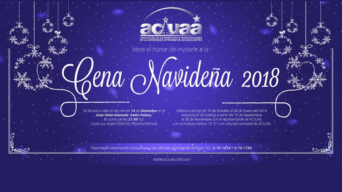 Cena Navideña 2018