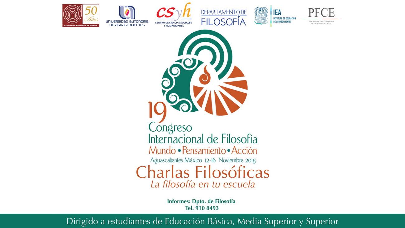 19 Congreso Internacional de Filosofía – Charlas Filosóficas