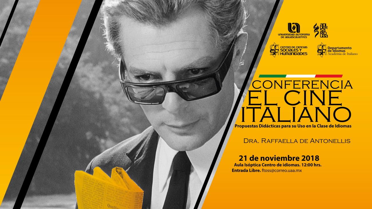 CONFERENCIA – EL CINE ITALIANO