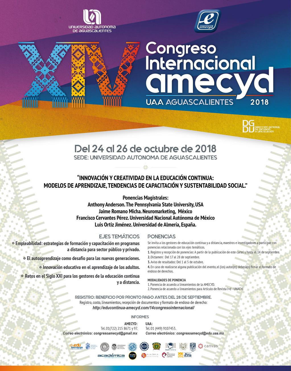 Congreso Internacional amecyd 2018