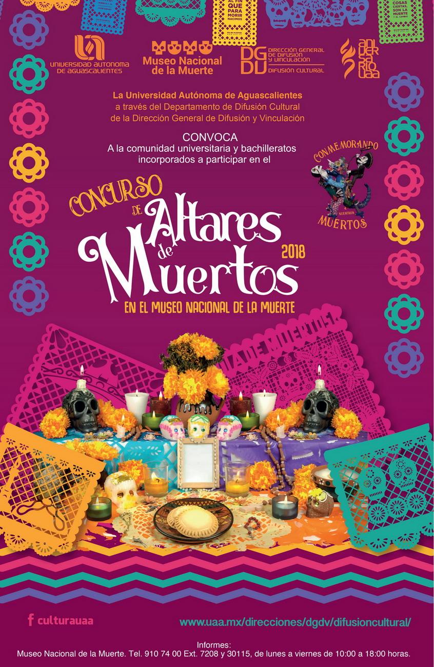 Concursos de Altares de Muertos 2018