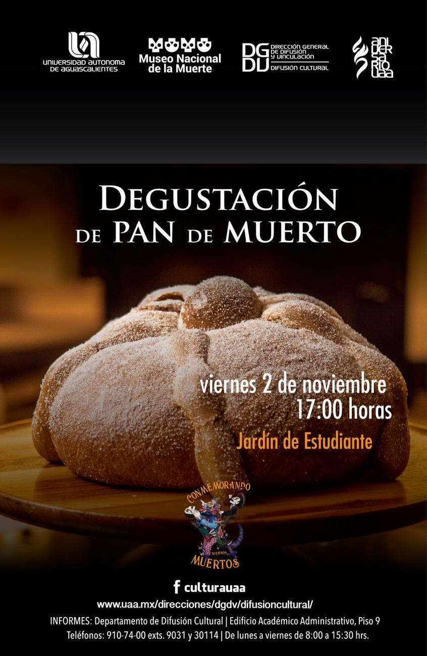 Degustación de Pan de Muertos