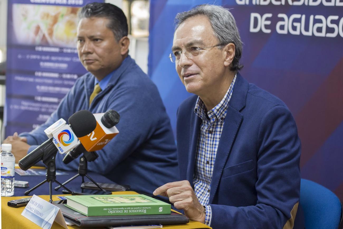 Estudiar la historia del agua es acercarse a la médula del contexto histórico de Aguascalientes, investigador de la UAA