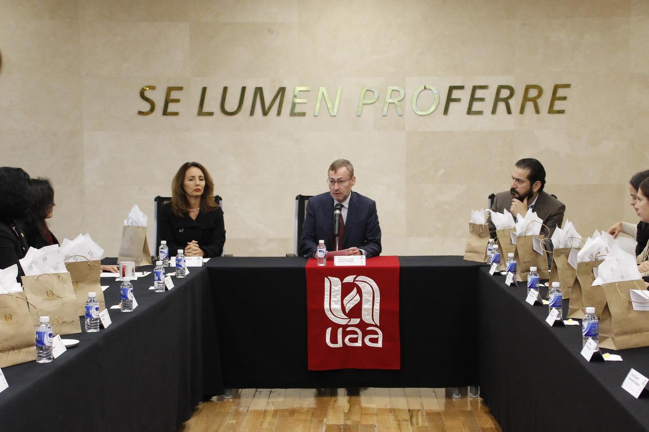 UAA sede de la sesión ordinaria de la Red de Comunicación de la Región Centro Occidente de la ANUIES