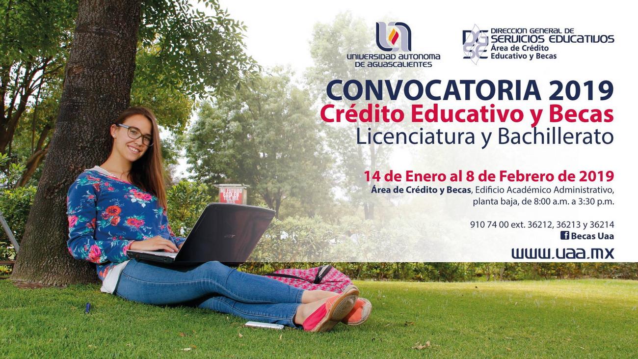 Abre primer periodo de becas 2019 en la Universidad Autónoma de Aguascalientes