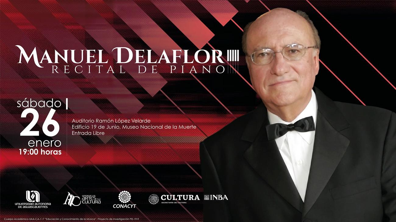 MANUEL DELAFLOR – RECITAL DE PIANO