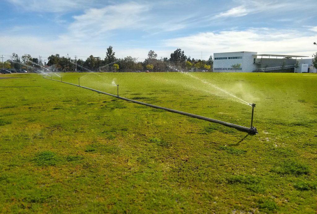 Planta de tratamiento de la UAA ofrece agua suficiente para el riego de más de 17 hectáreas de zonas verdes