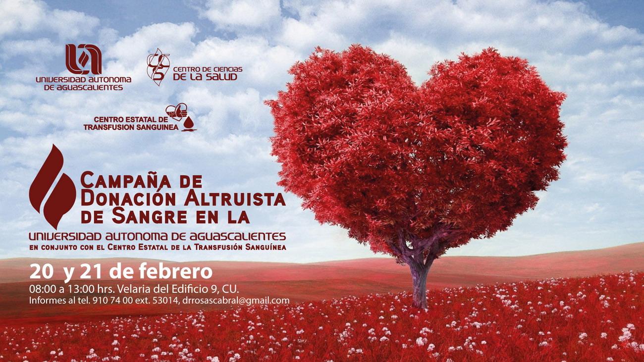 Campaña de Donación Altruista de Sangre