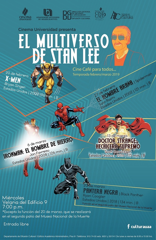 EL MULTIVERSO DE STAN LEE