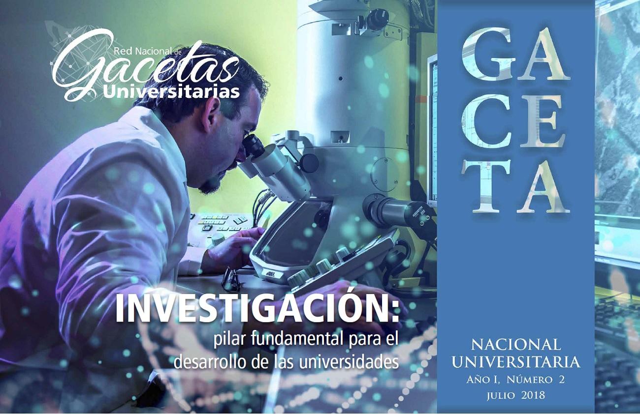 Gaceta Nacional Universitaria No. 2 Investigación