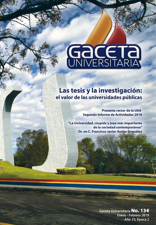 Gaceta Universitaria #134