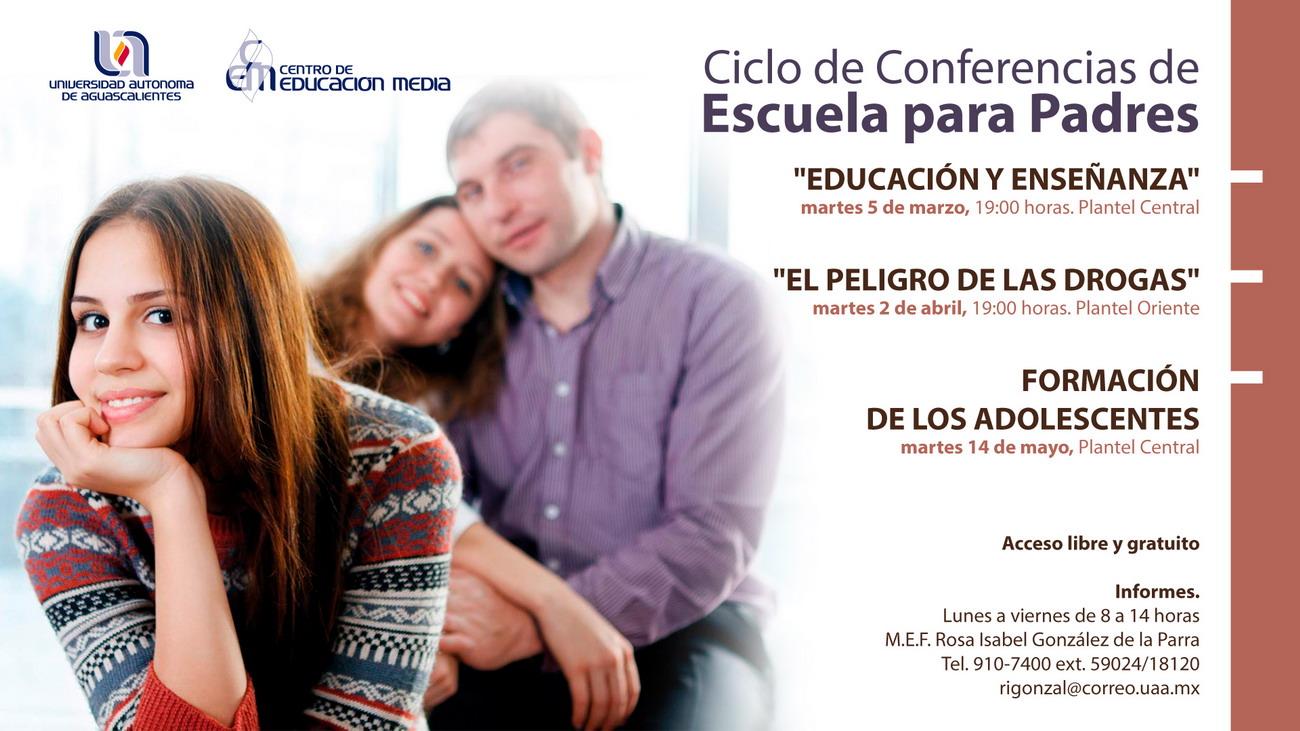 Ciclo de Conferencias de Escuela para Padres