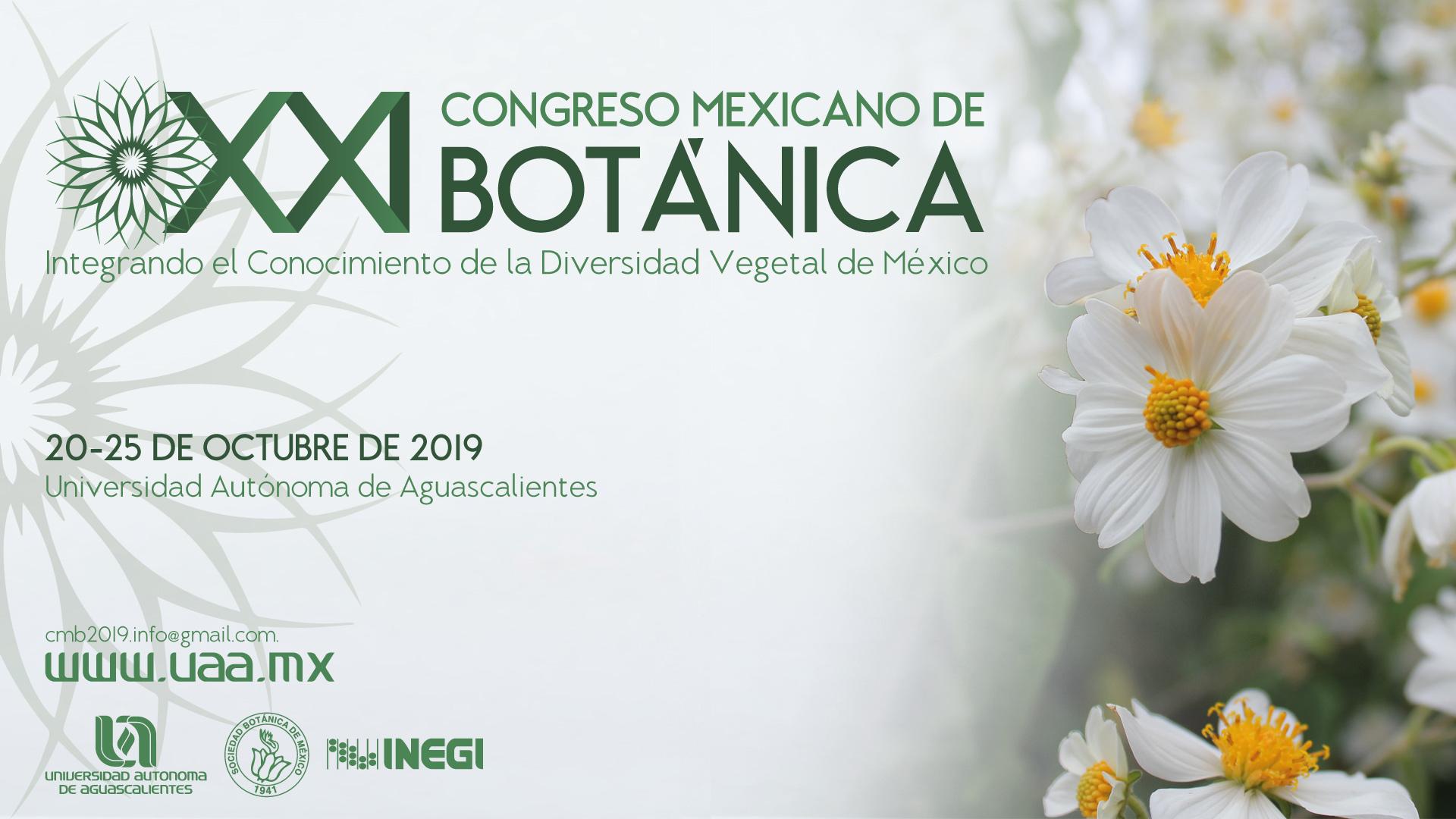 XXI Congreso Mexicano de Botánica