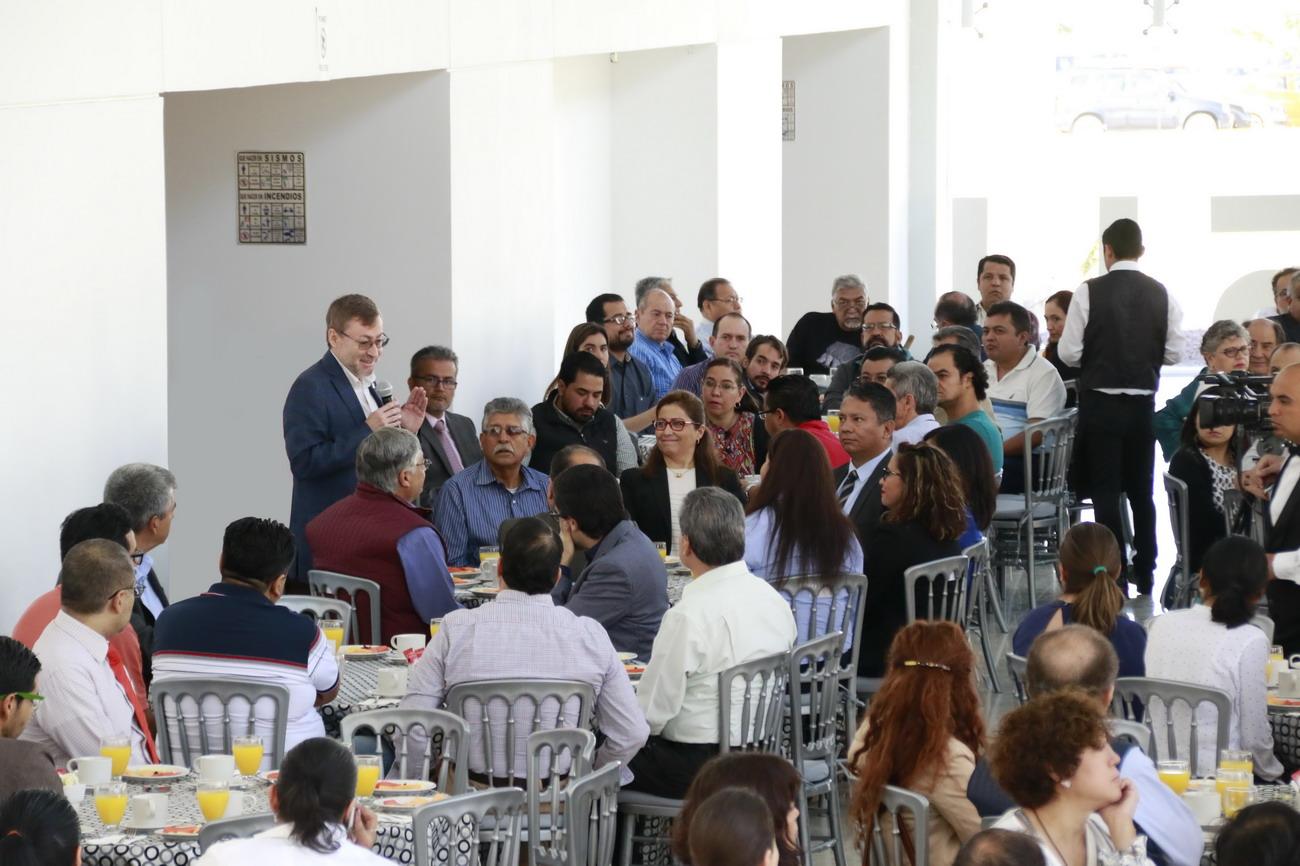 UAA reconoce a los académicos que forman parte del Sistema Nacional de Investigadores por sus aportaciones científicas