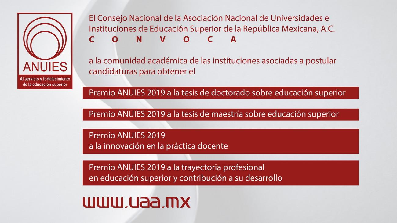 Premio ANUIES 2019