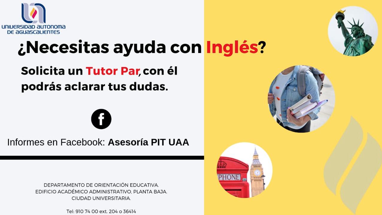 ¿Necesitas ayuda con el Inglés?