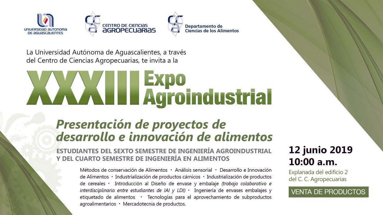XXXIII Expo Agroindustrial