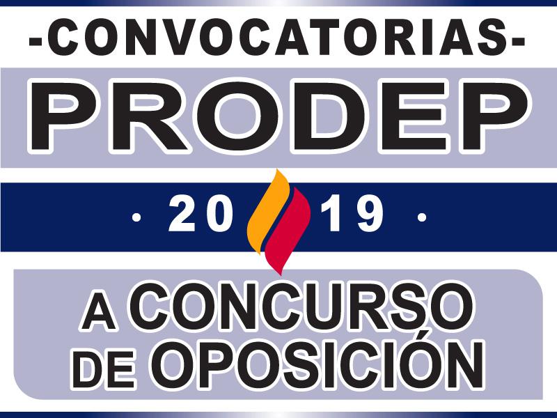 Convocatorias – Oposición & PRODEP