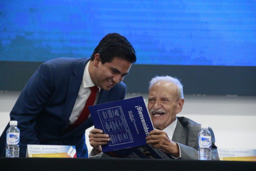 Reconoce la UAA al ex Rector y Fundador de la carrera de Derecho Efrén González Cuellar