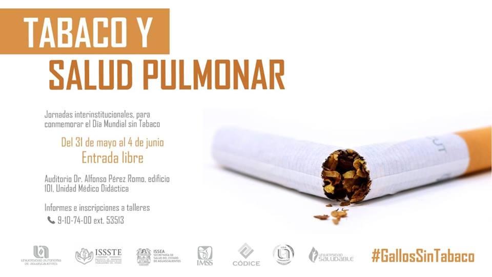 Jornadas Interinstitucional, para conmemorar el Día Mundial sin Tabaco