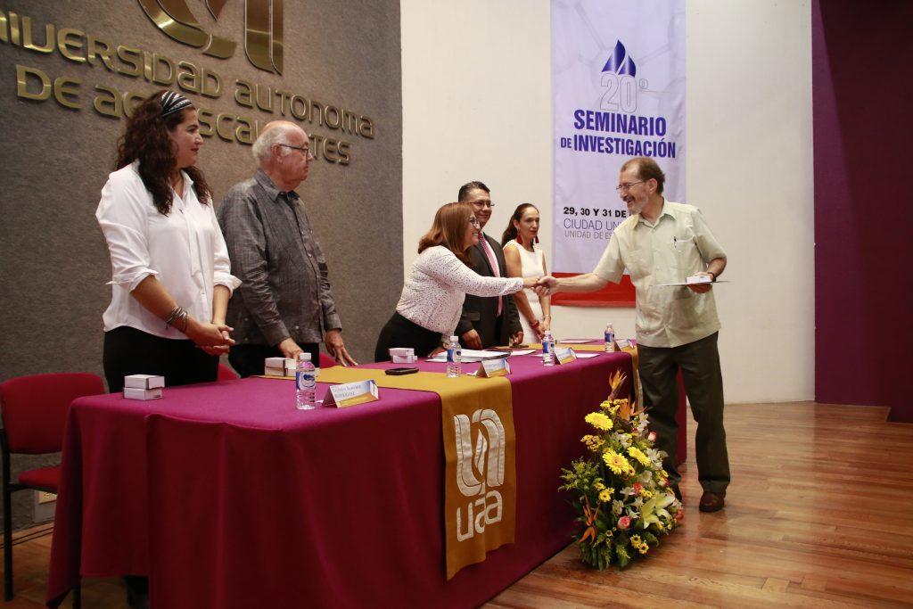 Investigadores de la UAA obtienen Premio al Mérito Universitario de Investigación 2019