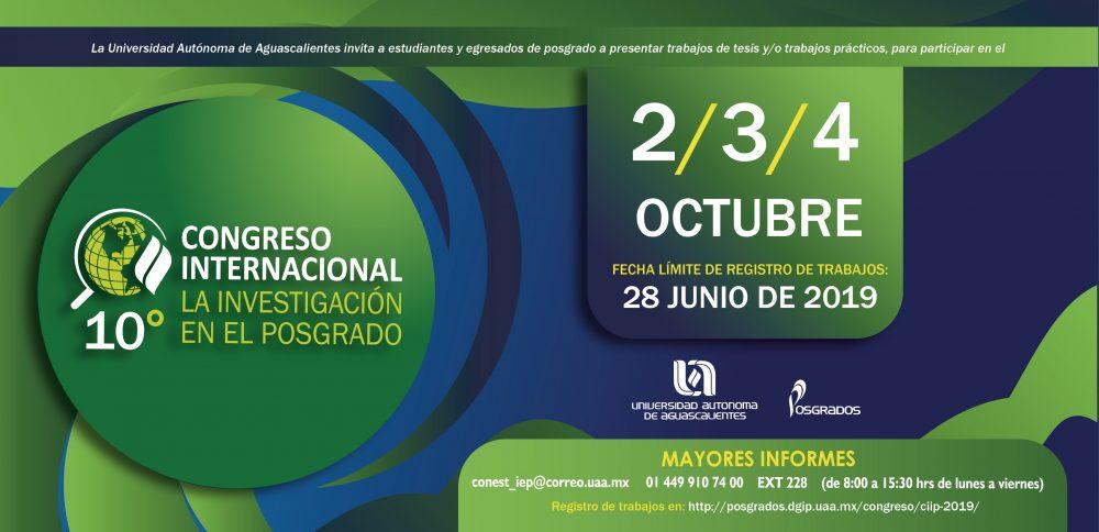 """10° Congreso Internacional """"La investigación en el Posgrado"""""""