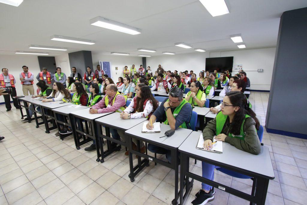 UAA promueve cultura de la prevención en simulacro