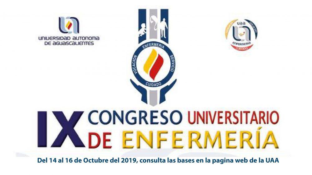 IX CONGRESO UNIVERSITARIO DE ENFERMERÍA