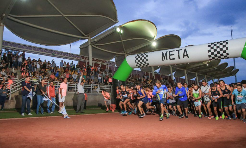 Con gran éxito se realizó la Carrera Atlética Universitaria