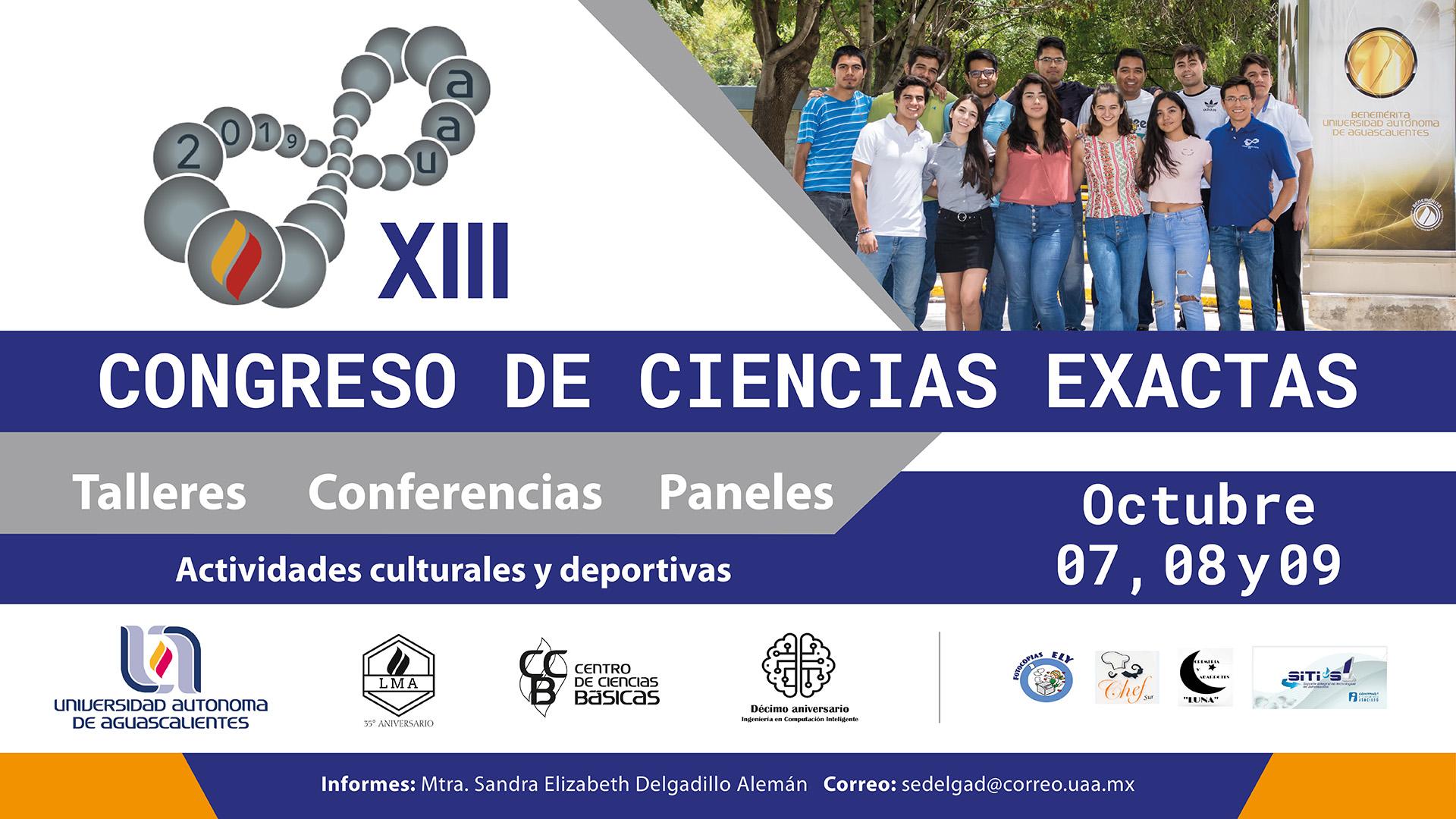 XIII Congreso de Ciencias Exactas