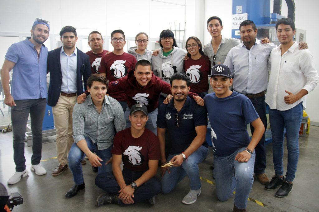 Destacan estudiantes de Ingeniería en Diseño Mecánico de la UAA en XXV Congreso Internacional Anual SOMIM 2019