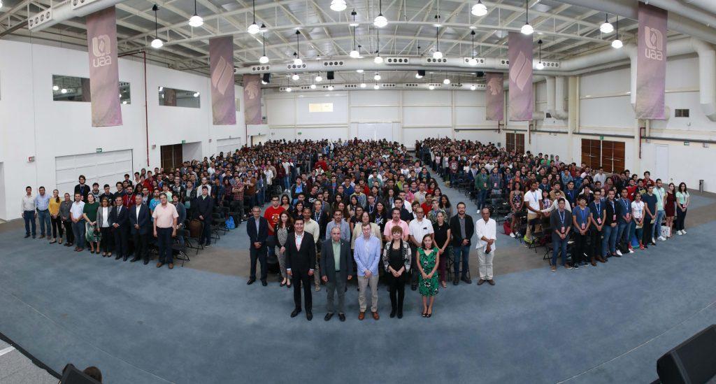 Inaugura UAA XIII Congreso de Ciencias Exactas 2019 con la asistencia de más de mil participantes