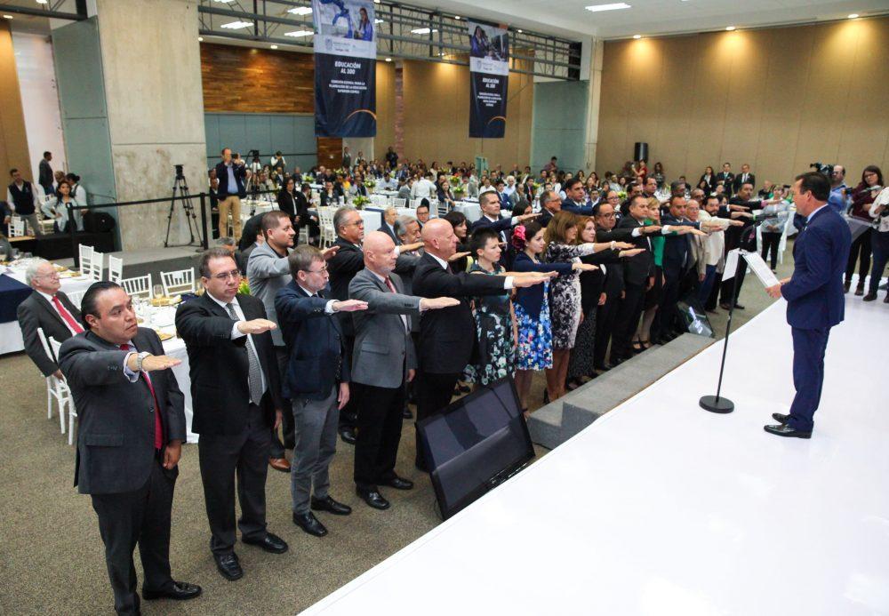 Rector de la UAA rinde protesta como integrante de CEPES