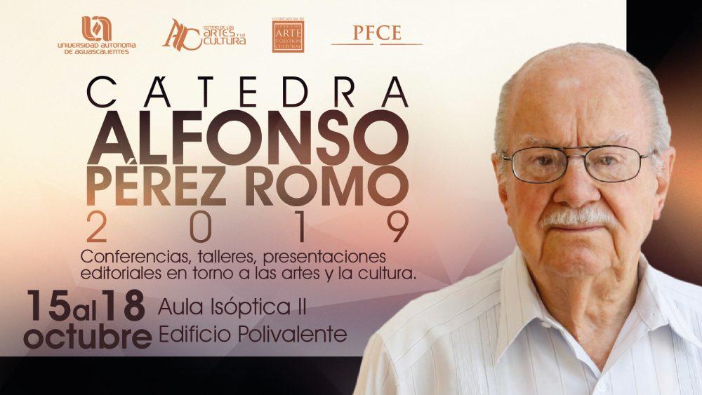 Cátedra Alfonso Pérez Romo 2019