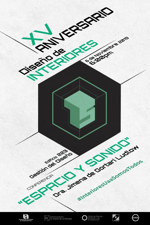 XV Aniversario de la Licenciatura en Diseño de Interiores