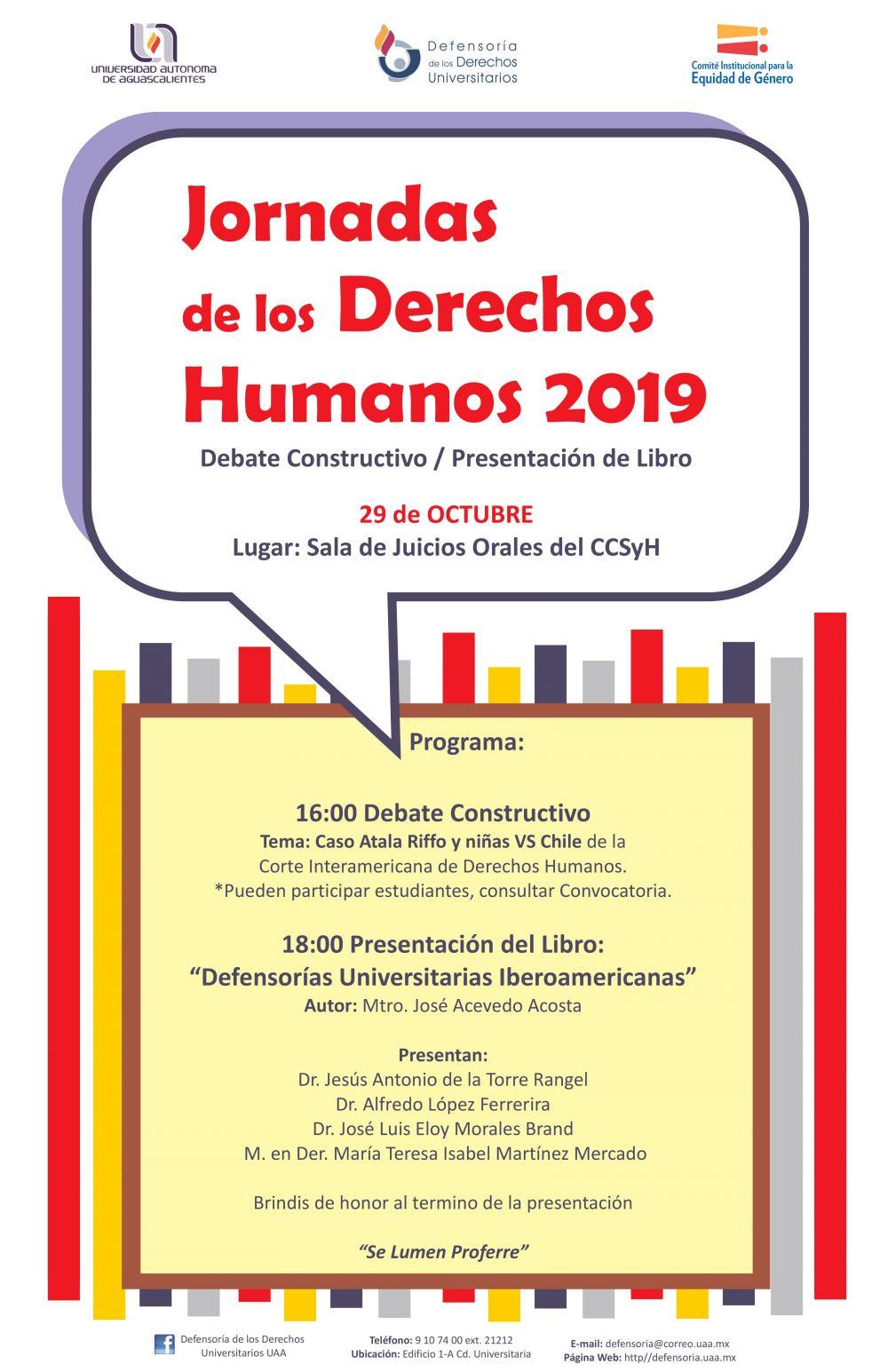 Jornadas de Derechos Humanos 2019