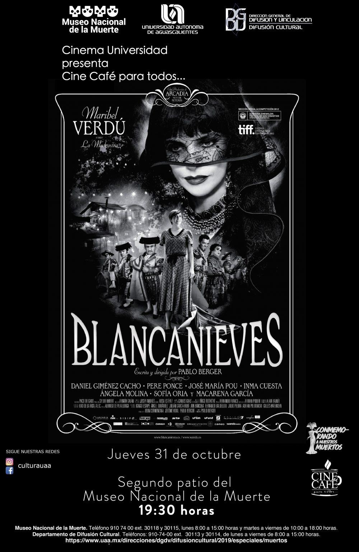 Cine Café para todos… Blanca Nieves
