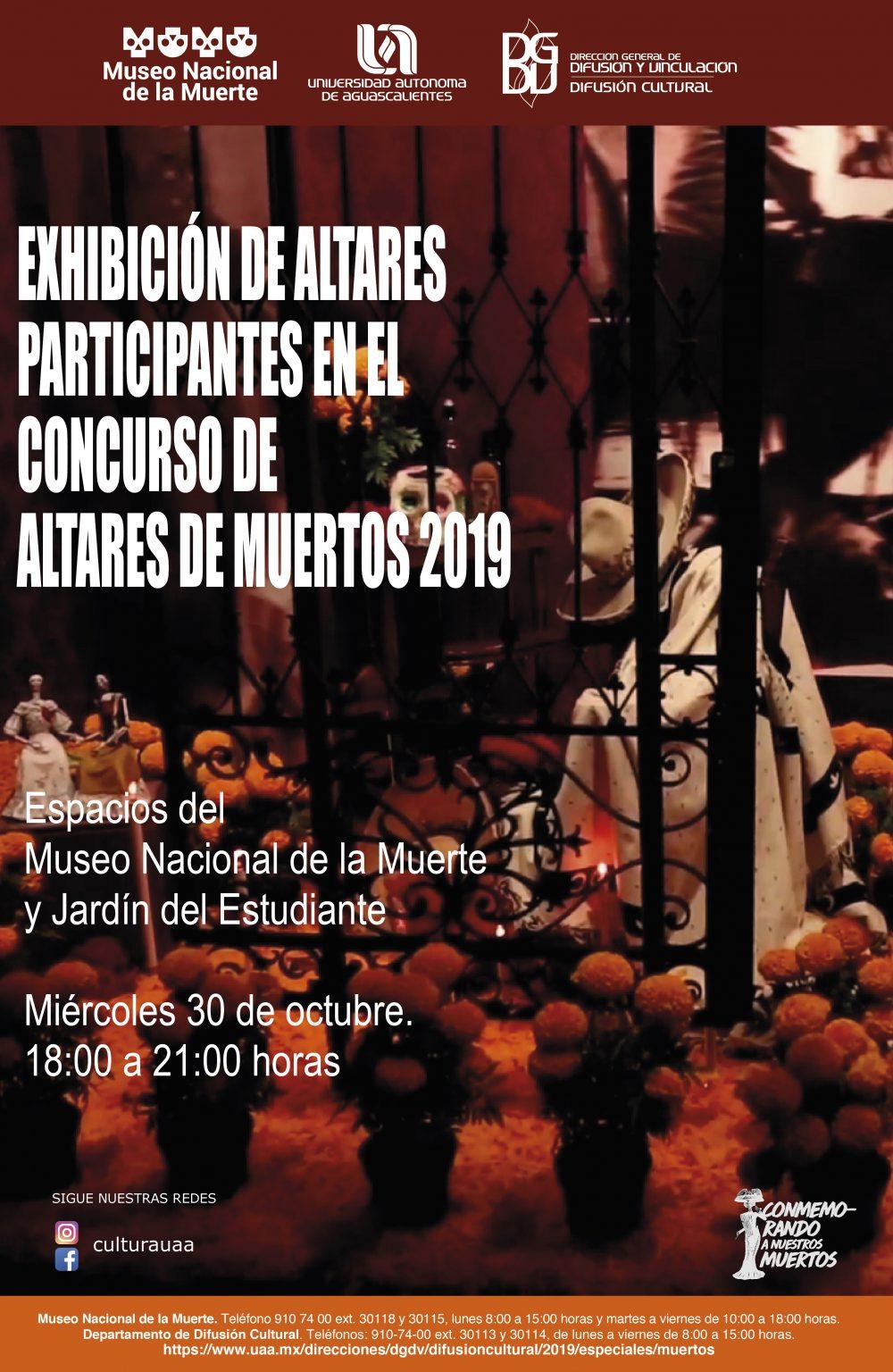 Exhibición Altares de Muertos