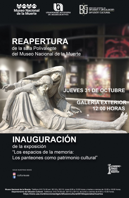Reapertura de la sala Polivalente – Museo Nacional de la Muerte