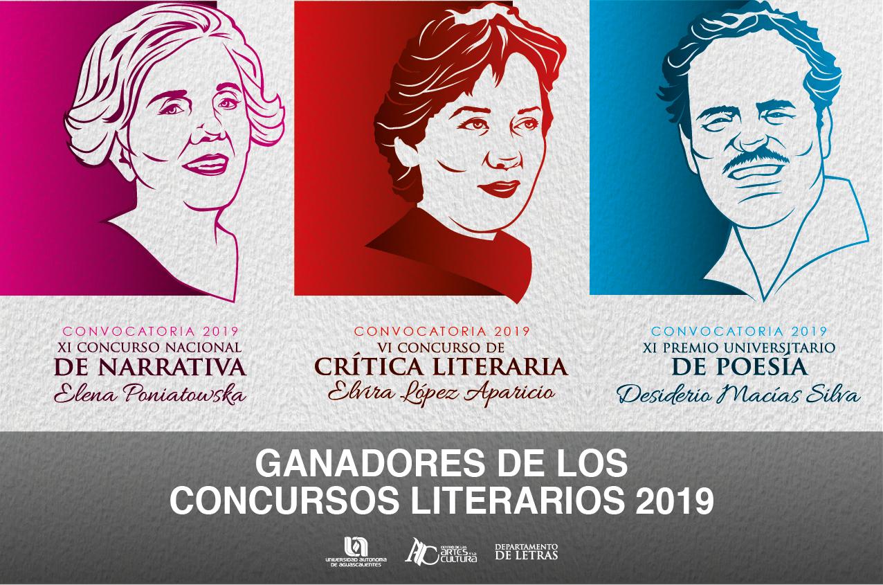 Ganadores de los Concursos Literarios del 2019