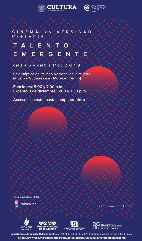 Cinema Universidad – Talento Emergente