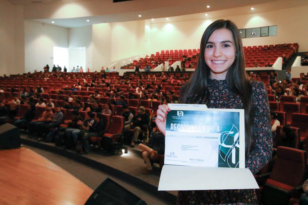 UAA reconoce a 190 universitarios destacados en las Ciencias de la Ingeniería