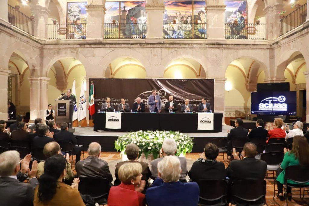 Conmemora Asociación de Catedráticos e Investigadores de la UAA su 40 aniversario