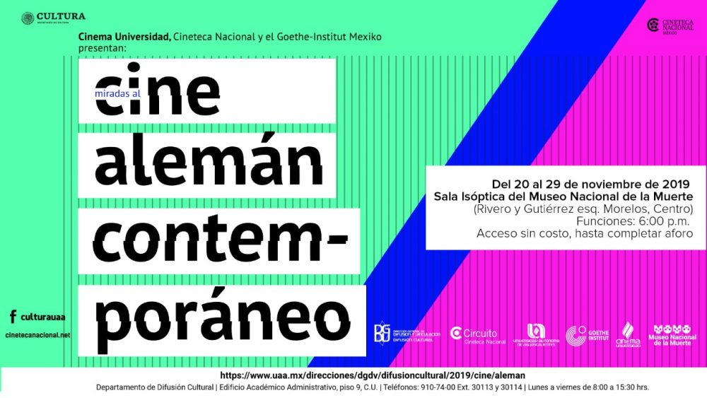 Presenta ciclo fílmico Miradas al Cine Alemán Contemporáneo