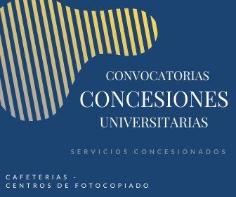 CONVOCATORIA PARA SERVICIOS CONCESIONADOS