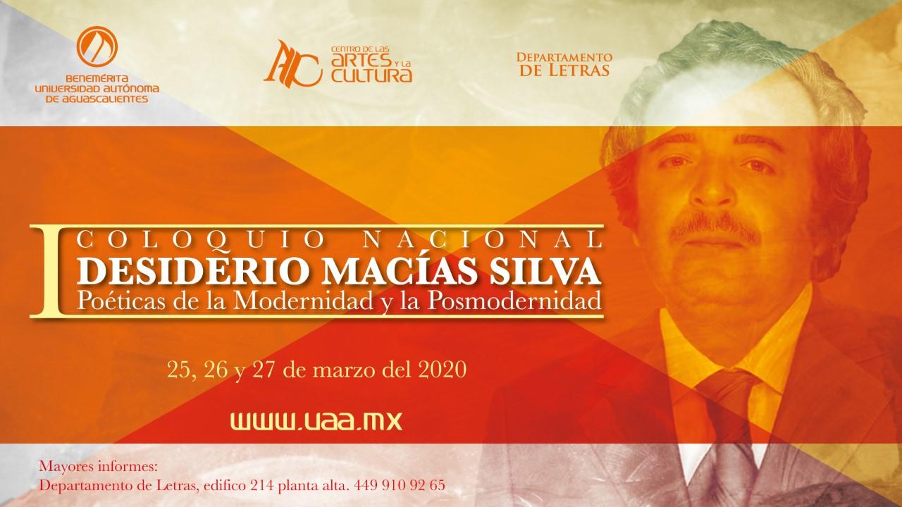 I Coloquio Nacional Desiderio Macías Silva
