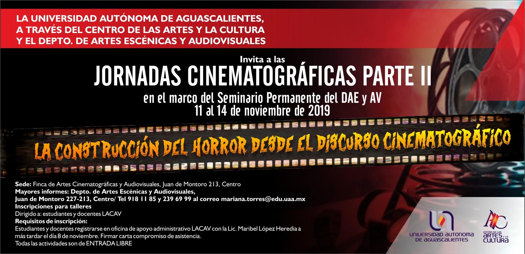 JORNADAS CINEMATOGRÁFICAS PARTE II