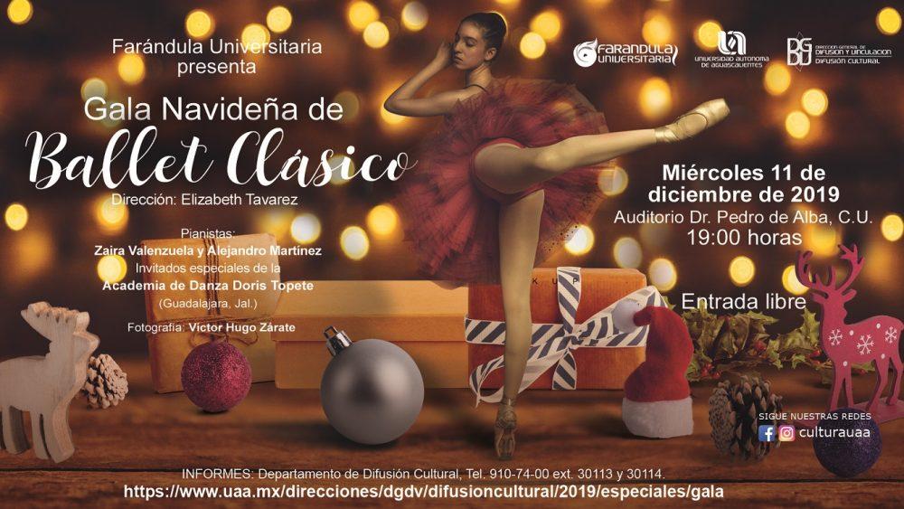 Gala Navideña de Ballet Clasico